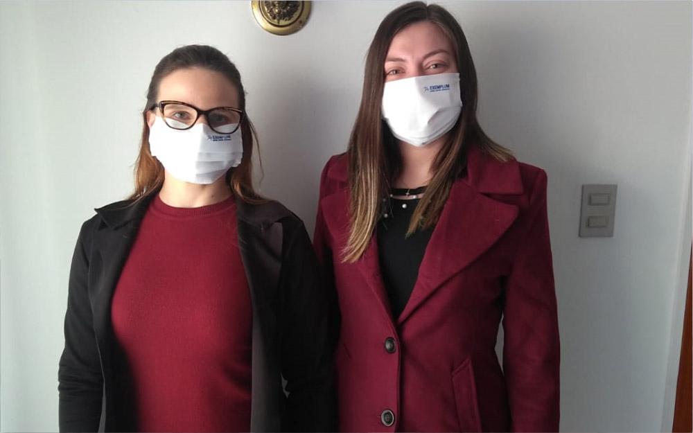 Proteção padrão Exemplum no combate ao Coronavírus